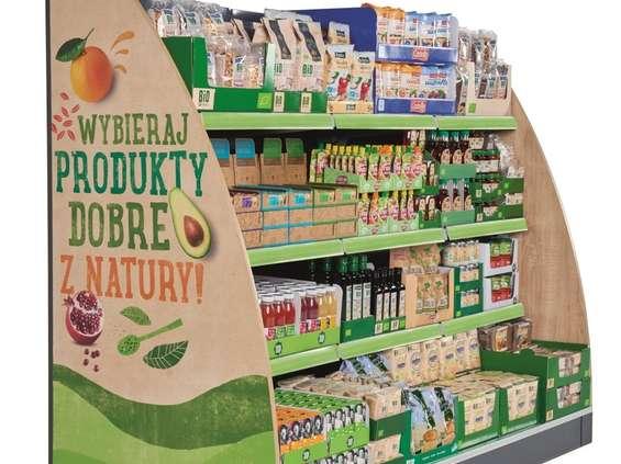 Lidl wprowadza regały z produktami eko