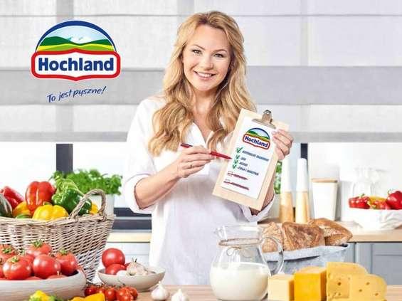 Anna Guzik promuje markę Hochland