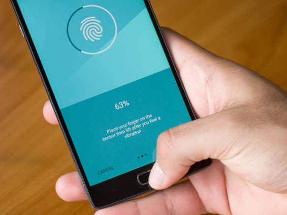 Czytniki linii papilarnych w miliardzie smartfonów w 2018 r.