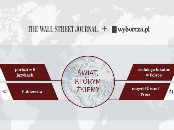 """""""Gazeta Wyborcza"""" współpracuje z """"The Wall Street Journal"""""""