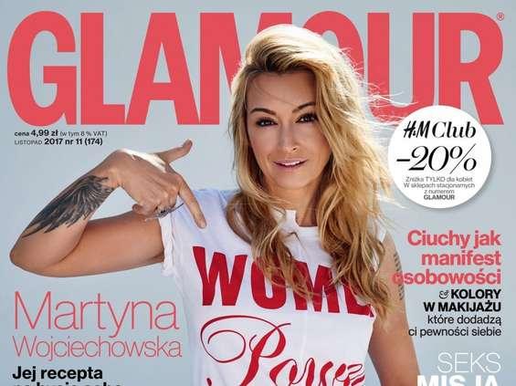 """Listopadowy """"Glamour"""" z akcją #PoweredByWomen"""
