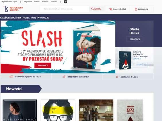 Kulturalnysklep.pl w nowej odsłonie