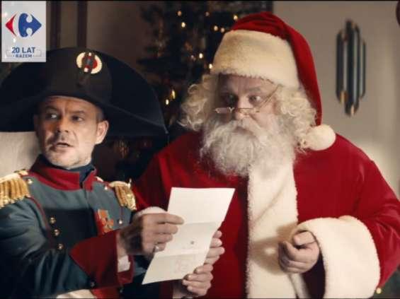 Napoleon w nowej kampanii Carrefour [wideo]