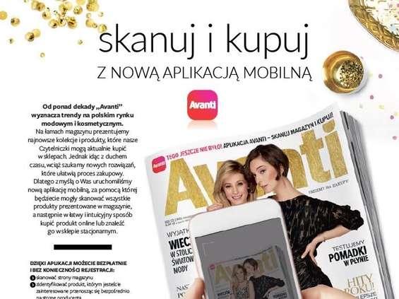 """Aplikacja """"Avanti"""" pozwala na zakupy ze stron magazynu"""