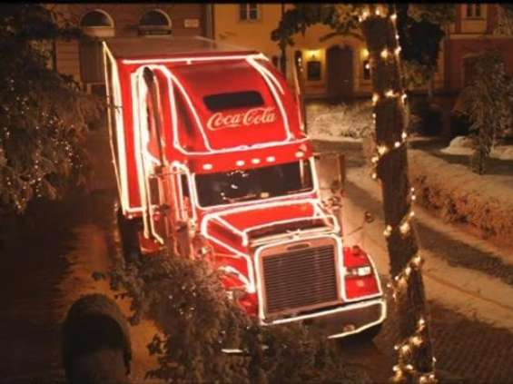 Brytyjczycy mają problem z ciężarówkami Coca-Coli