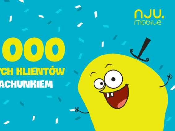 Nju.mobile ma pół miliona abonentów