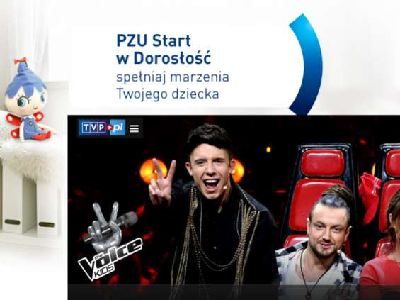 "Niestraszki PZU w ""The Voice Kids"""