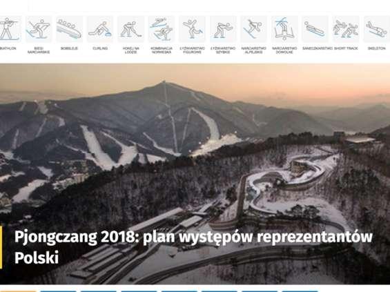 Grupa Onet-RASP uruchamia specjalne serwisy sportowe i programy na Igrzyska w Pjongczangu