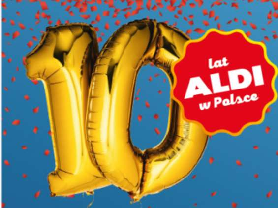 Jubileuszowa kampania Aldi