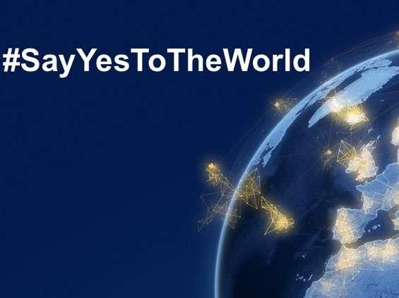 """""""Powiedz światu tak"""": nowa kampania Lufthansy"""