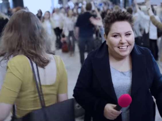 Dorota Wellman w kampanii T-Mobile [wideo]