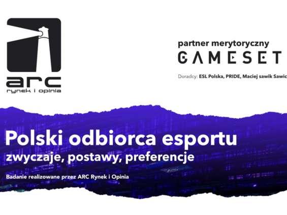 Rusza badanie polskich fanów e-sportu