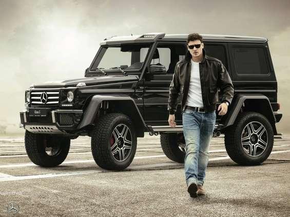 Mateusz Damięcki ambasadorem Mercedes-Benz Grupa Wróbel
