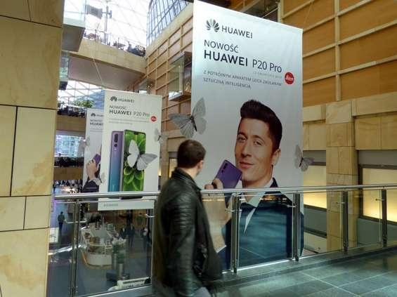 Huawei niestandardowo promuje smartfon P20 Pro