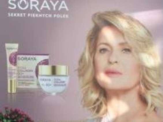 Ewa Kasprzyk nową twarzą marki Soraya