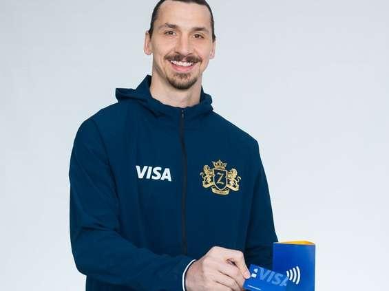 Zlatan Ibrahimović twarzą kampanii Visa