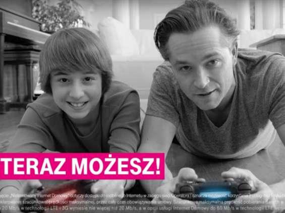 T-Mobile reklamuje mobilny internet w zestawie z PlayStation