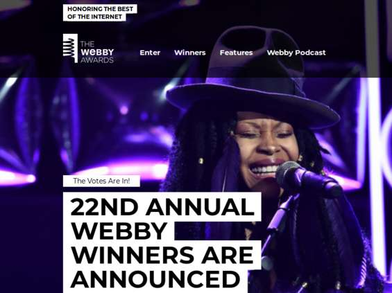BBDO New York Agencją Roku na Webby Awards