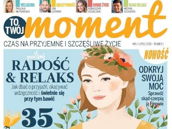 """""""To Twój Moment"""" - nowy magazyn od Burdy"""