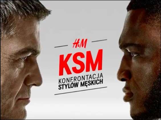 H&M promuje kolekcję mody męskiej nawiązując do gal bokserskich