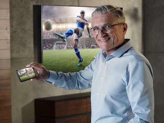 Adam Nawałka reklamuje Samsunga