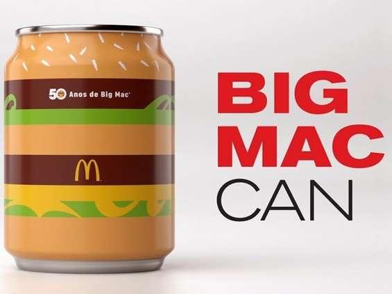 Specjalna puszka Coca-Coli na półwiecze BigMaca