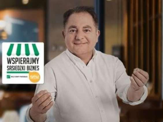 Robert Makłowicz reklamuje bank BGŻ BNP Paribas [wideo]