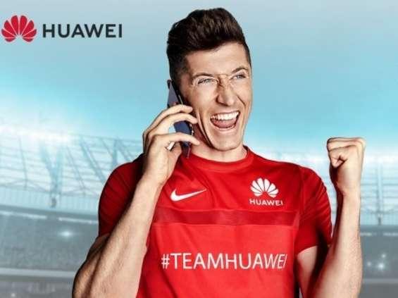 Piłkarska promocja Huawei