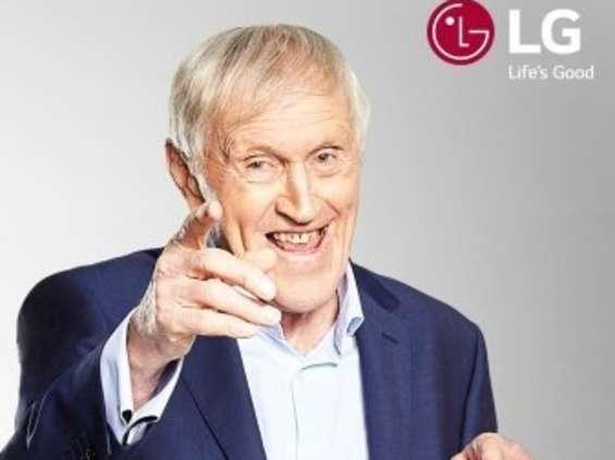 Jacek Gmoch w kampanii LG na mundial [wideo]