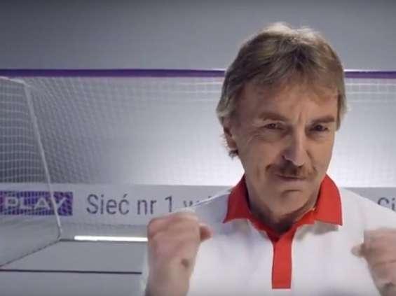 Zbigniew Boniek w reklamie Playa [wideo]