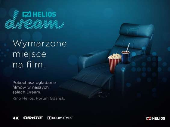 Helios z ofertą premium dla kinomanów