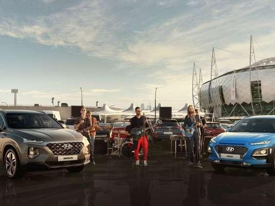Hyundai z Maroon 5 na mundial [wideo]
