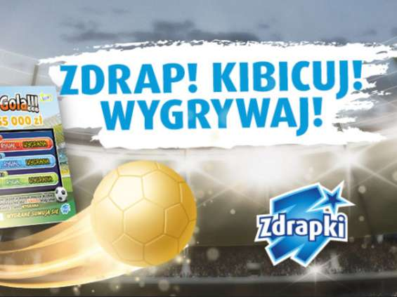 Totalizator Sportowy reklamuje piłkarskie zdrapki