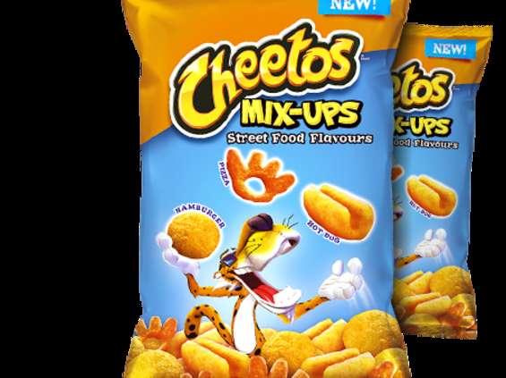 Influencerzy w telewizyjnej kampanii Cheetos [wideo]