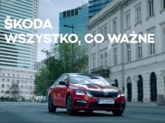 """Škoda reklamuje się hasłem """"Wszystko, co ważne"""""""