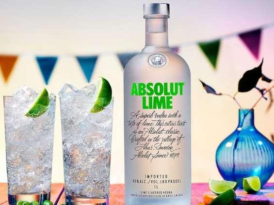 Pernod Ricard wspiera nowość - Absolut Lime