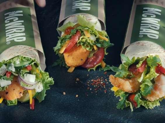 McDonald's startuje z kampanią McWrapów [wideo]