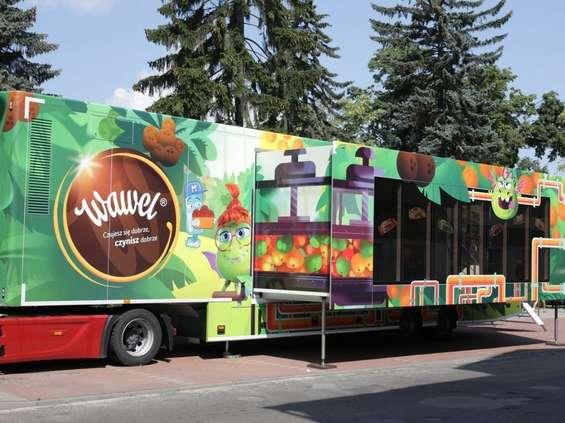 Wawel rusza w Polskę ciężarówką z cukierkami