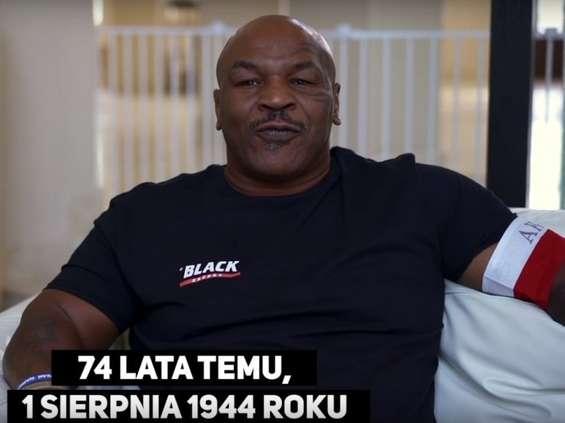Mike Tyson opowiada o Powstaniu Warszawskim