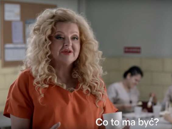 "Magda Gessler promuje nowy sezon ""Orange Is the New Black"" na Netflix"