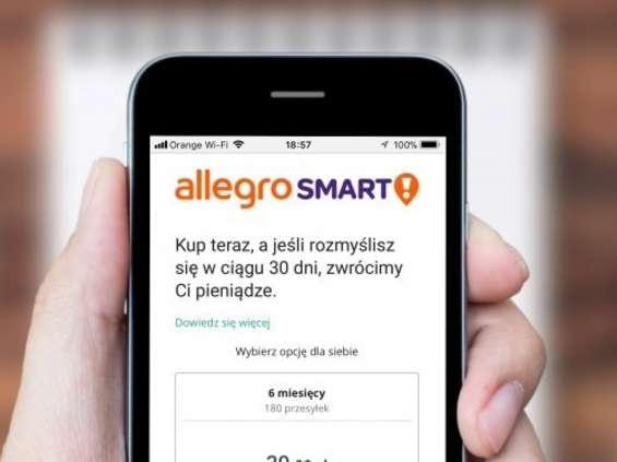 Allegro oferuje dostawy za 49 zł na rok