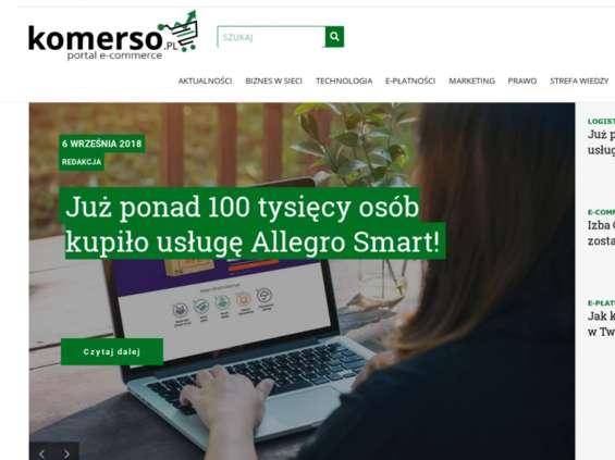 Komerso.pl - nowy portal dla branży e-commerce