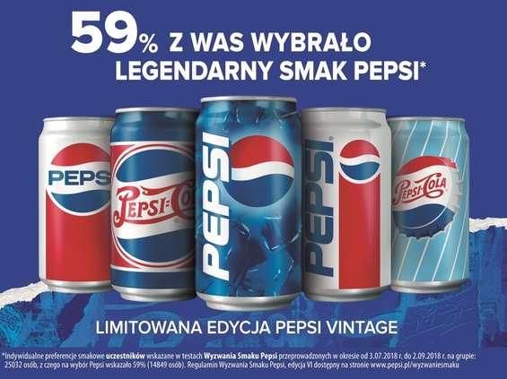 Pepsi składa hołd estetyce vintage [wideo]