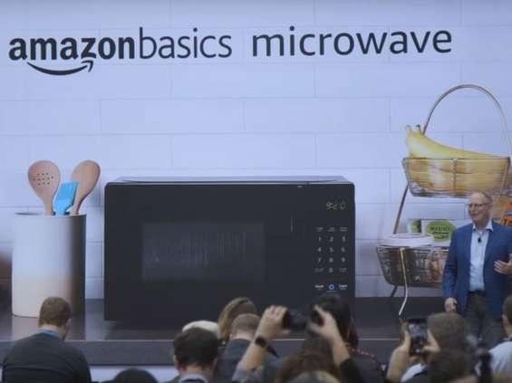 Nowa mikrofalówka Amazona reaguje na komendy głosowe [wideo]
