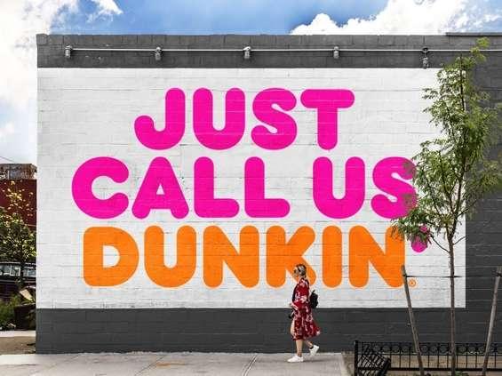 Dunkin' rezygnuje z Donuts w nazwie marki