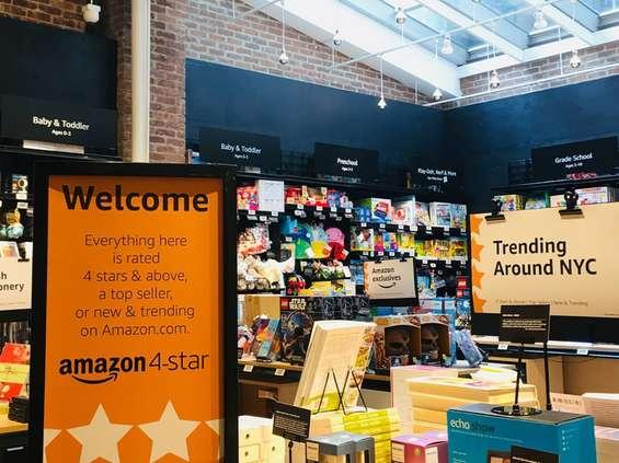 Amazon 4-star otwarty w Nowym Jorku [wideo]