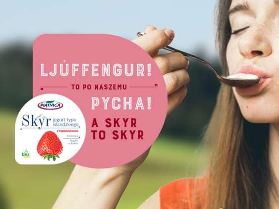 Piątnica wprowadza Skyr - jogurt typu islandzkiego