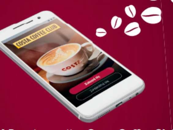 Kawiarnie Costa Coffee wprowadzają aplikację Costa App