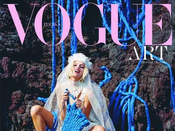 """W listopadzie """"Vogue"""" o sztuce"""