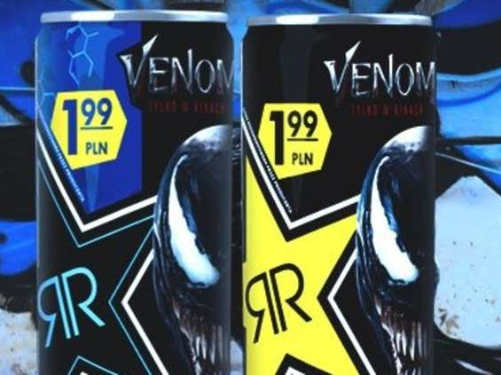 "Rockstar Energy Drink wspiera premierę ""Venom"""